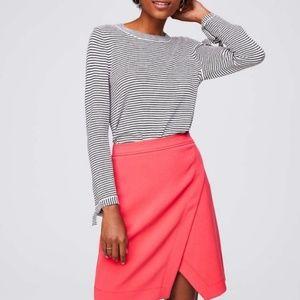 REDUCED!! Loft asymmetrical wrap skirt